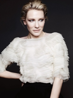 Cate Blanchett by Ben Hassett for Harper's Bazaar UK December 2013