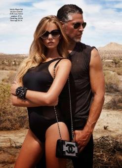 Maloes Horst for Harper's Bazaar Australia December 2013-Qeen Of The Desert