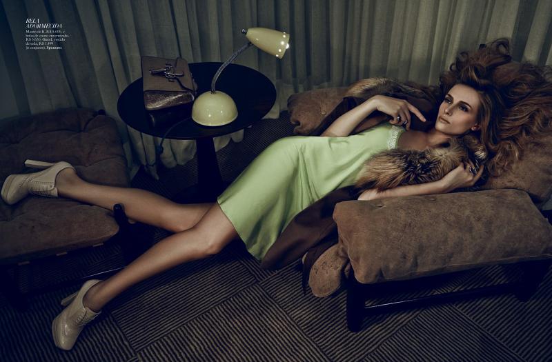 Regina Krilow for Harper's Bazaar Brasil November 2013
