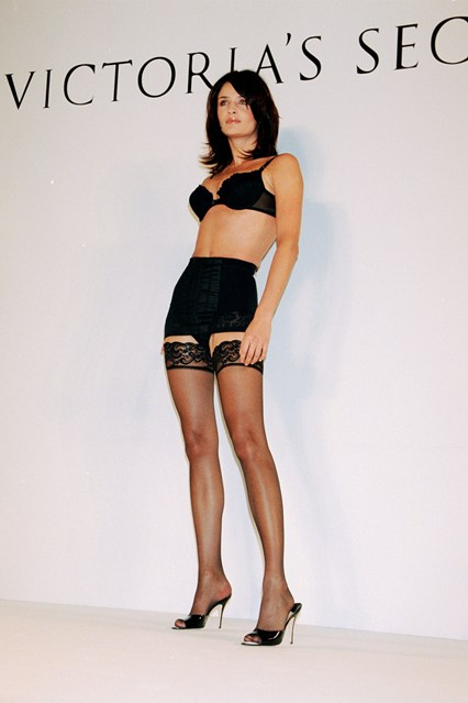 Helena Christensen in the 1996 Victoria's Secret show.