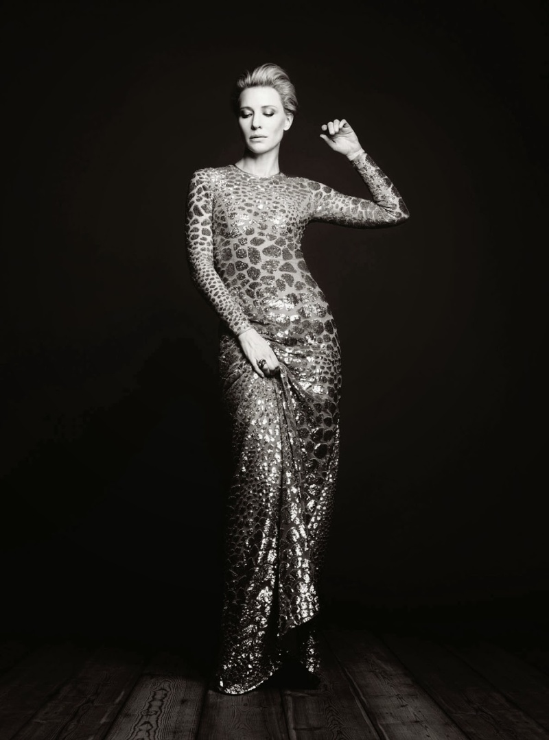 Cate Blanchett by Ben Hassett for Harper's Bazaar UK December 2013