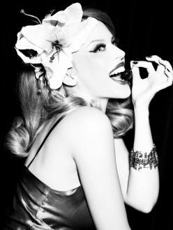 Kylie Minogue by Ellen Von Unwerth for GQ Germany