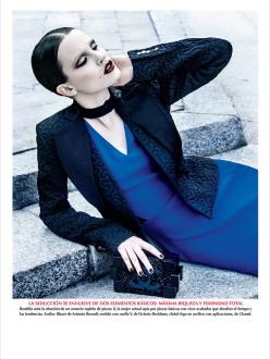 Julia Borawska for Vogue Mexico November 2013-Fiebre Azul