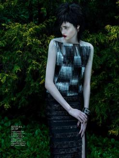 Thairine Garcia for Harper's Bazaar Brazil November 2013-Glam Punk