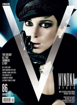 Winona Ryder for V Magazine Winter 2013/14-You Don't Even Know Winona