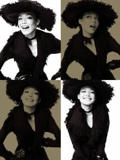Shu Qi by Mario Testino for Vogue China December 2013