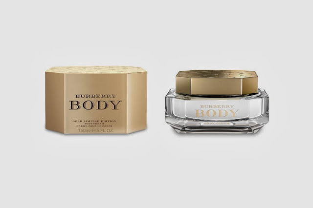 BURBERRY BODY BODY CREAM 150ML, £42.00 A limited edition Body Cream enriched with the Burberry Body Eau de Parfum fragrance Rich and sensual notes of green absinthe, natural rose and woody cashmeran are blended with moisturising shea butter, vitamin-rich sunflower and softening macademia seed oil to leave the skin smooth and scented