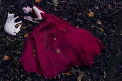Magda Languinge for Harper's Bazaar China December 2013