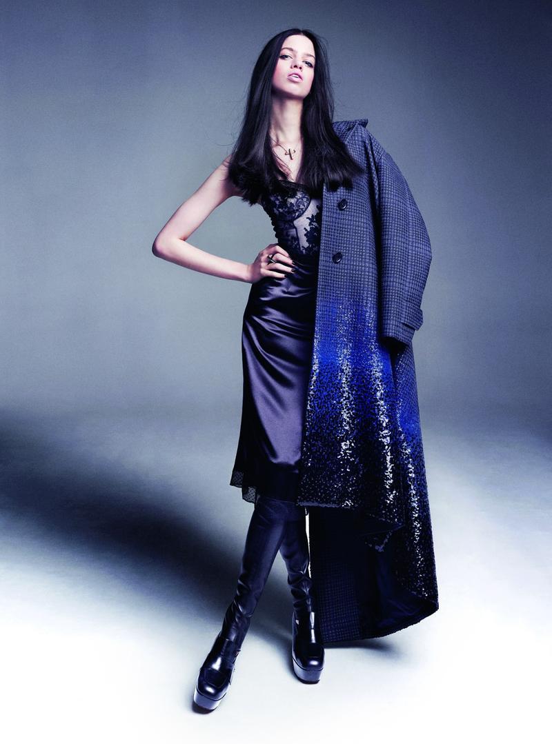 Lily McMenamy for Viva Moda Fall/Winter 2013
