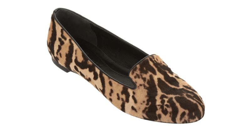 Alexander McQueen  Leopard print foal skin shoes €475