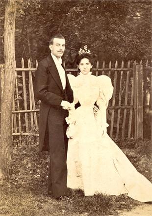 Alfred and Estelle Van Cleef, 1895