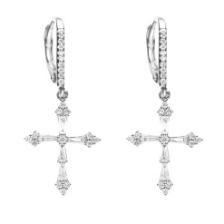 Stone Heaven earrings in white gold and diamonds, €3,150 at Montaigne Market
