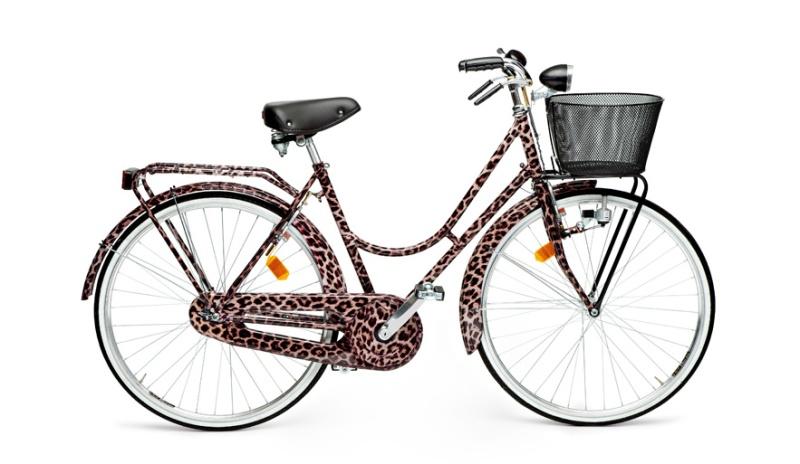 Dolce & Gabbana  Leopard print town bike €1600