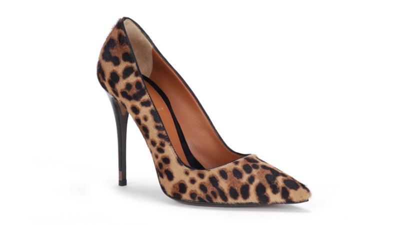 Fendi  Leopard print foal skin shoes, price on request
