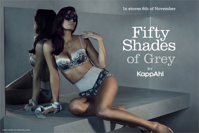 "Signe Nordstrom in ""50 shades of Grey"" by Kappahl"