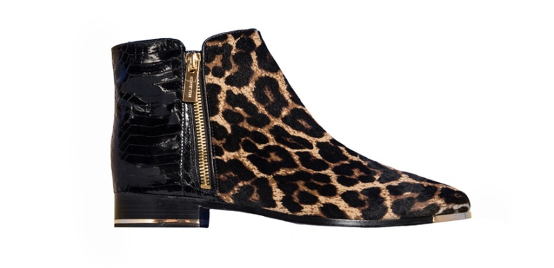 Michael Kors  Leather and leopard-print ponyskin boots, price on request