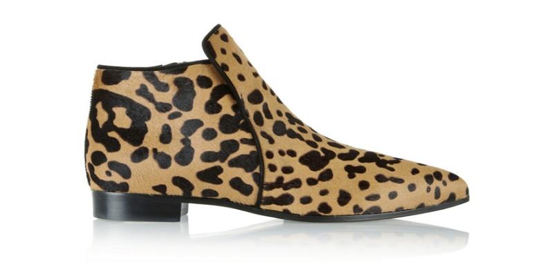Miu Miu  Leopard print foal skin boots €690