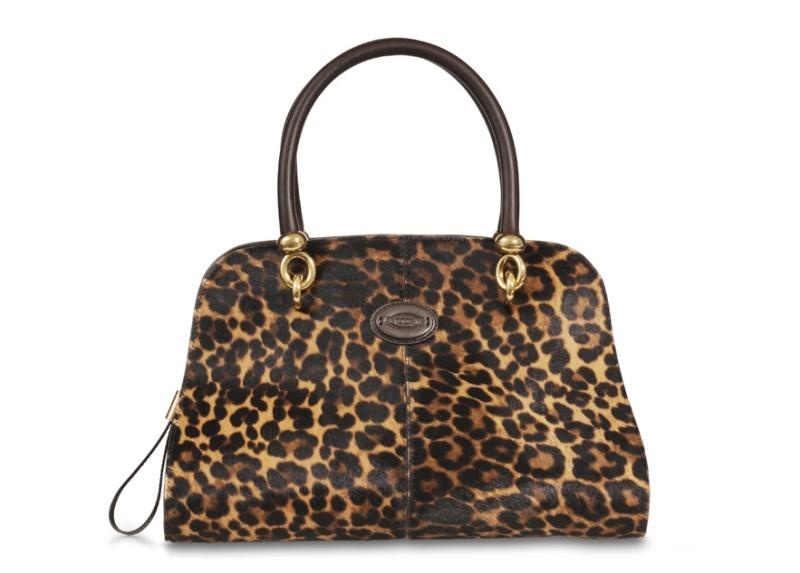 Tod's  Stella leopard print bag, price on request