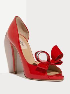 Valentino Couture Bow D'Orsay Pump, $695