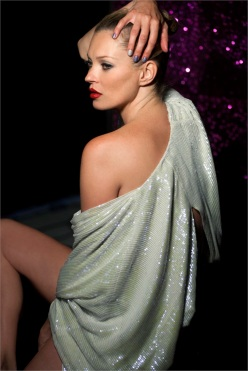 """Out Of This World""-Rimmel Christmas 2013 Campaign Starring Kate Moss"