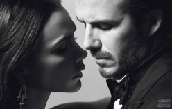 David & Victoria Beckham for Vogue Paris December 2013/January 2014