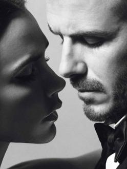 David & Victoria Beckham for Vogue Paris December 2013/January 2014
