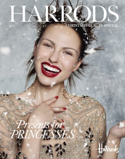 Snow Queen by Rui Faria for Harrods Magazine December 2013