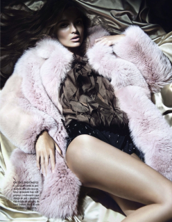 Carola Remer for Vogue Mexico December 2013-Pieles Para El Deseo