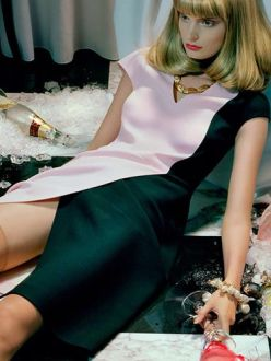 Agnete Hegelund for Vogue Italia December 2013