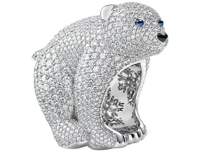Precious Polar Bear Ring Limited Edition
