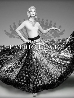 Linda Evangelista for Patric Love Spring 2014 Campaign