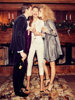 Sanna, Valentina and Alexander for Vanity Fair Italia December 2013