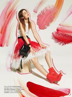 Rijntje Van Wijk for Elle Australia December 2013