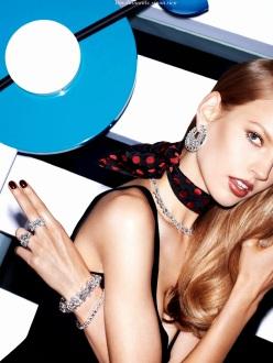Elisabeth Erm for Vogue Paris December/January 2013-2014