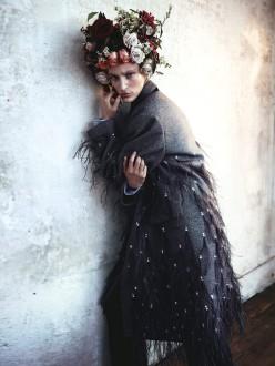 Franzi Mueller for Elle Sweden January 2014