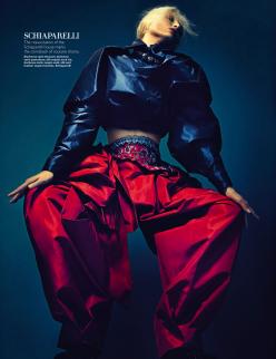 Melissa Tammerijn for Harper's Bazaar Singapore December 2013-The Haute List