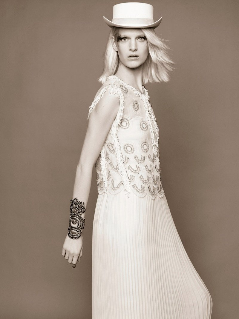 Ashleigh Good for Chanel Pre-Fall 2014 by Karl Lagerfeld