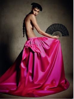 Joan Smalls for Vogue Germany January 2014-Dona Bonita