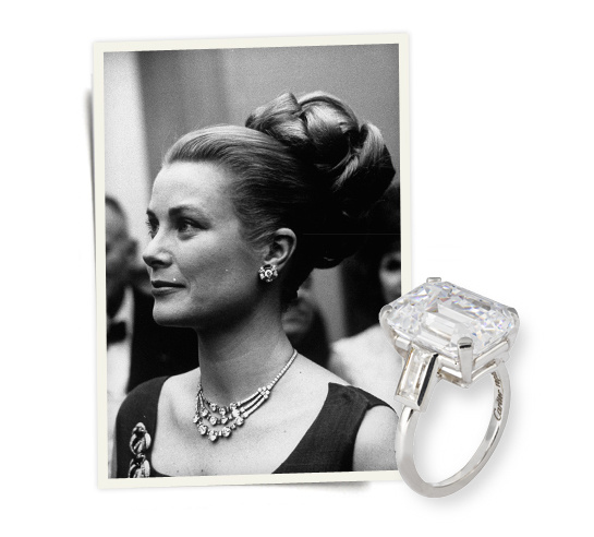 1956 cartier designs grace kelly s engagement ring