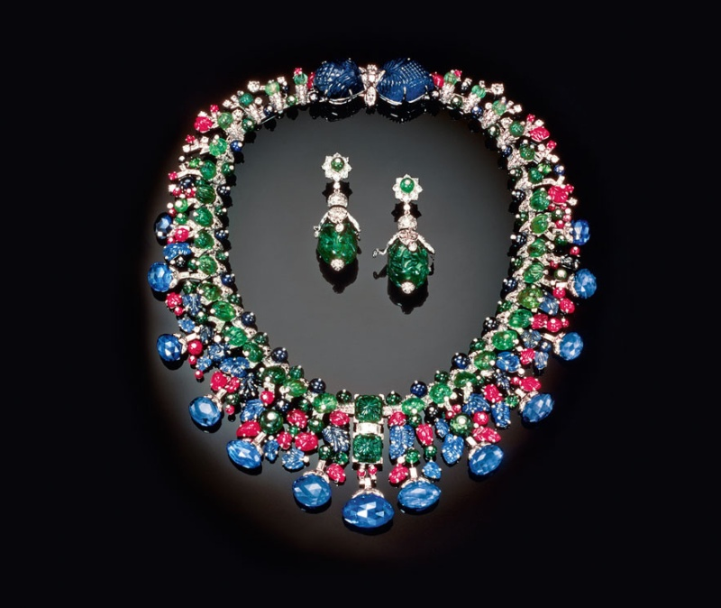 20th Century Jewelery and the Icons of Style  Photo: Hindu necklace created by Cartier for Daisy Fellowes, 1936. Courtesy of Sotheby's