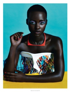 Lupita Nyong'o for Dazed & Confused February 2014