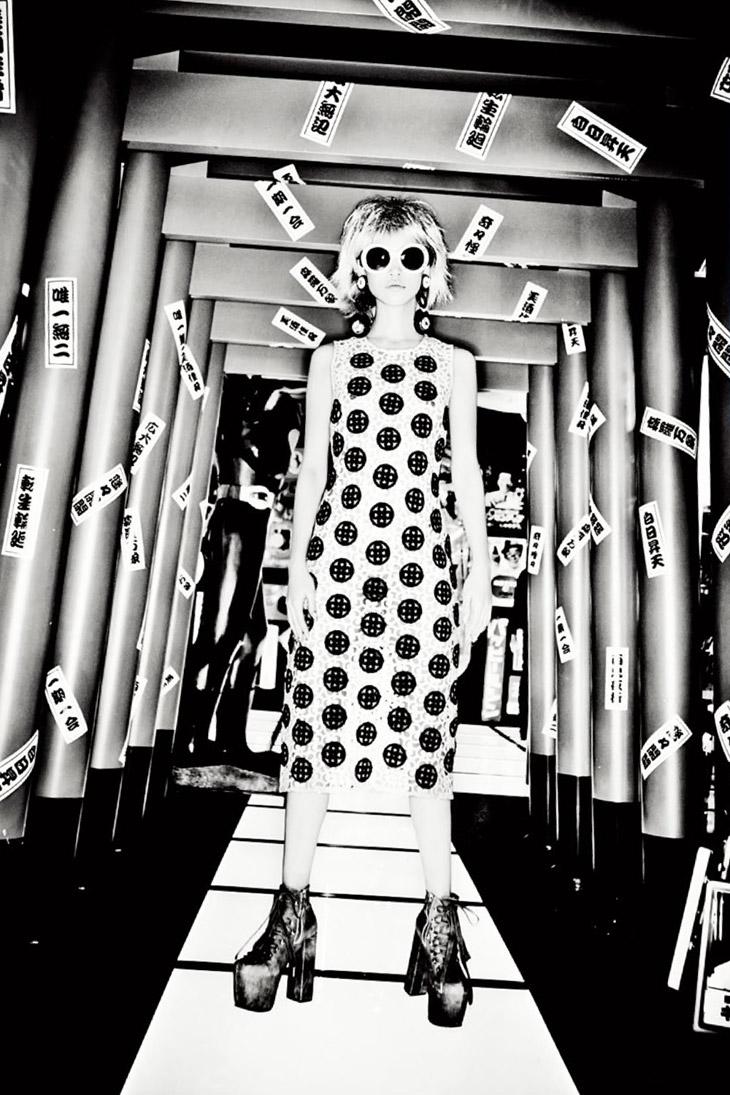 Kiko Mizuhara for Vogue Italia January 2014