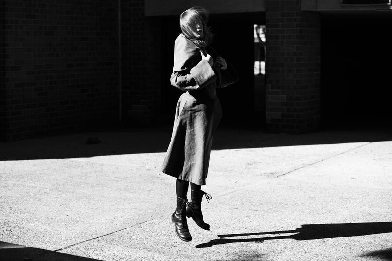 Sojourner Morrell for UnTitled Project Winter 2013 - Gareth Pugh