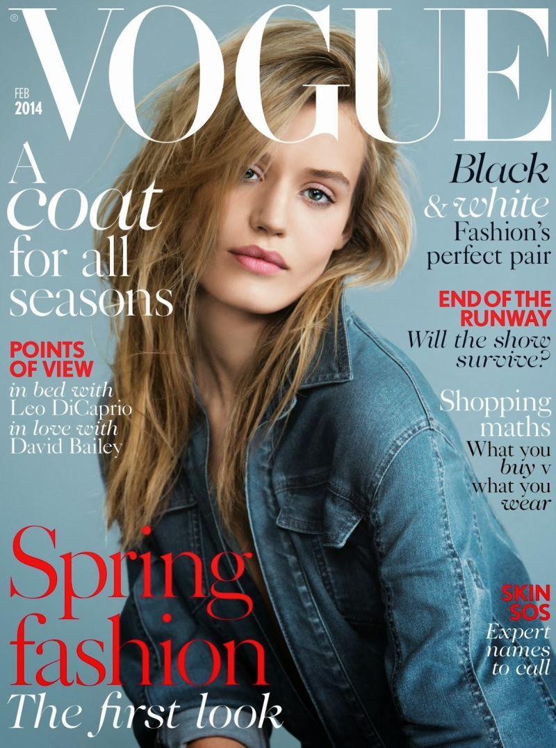 Spring Uncovered by Patrick Demarchelier For Uk Vogue February 2014