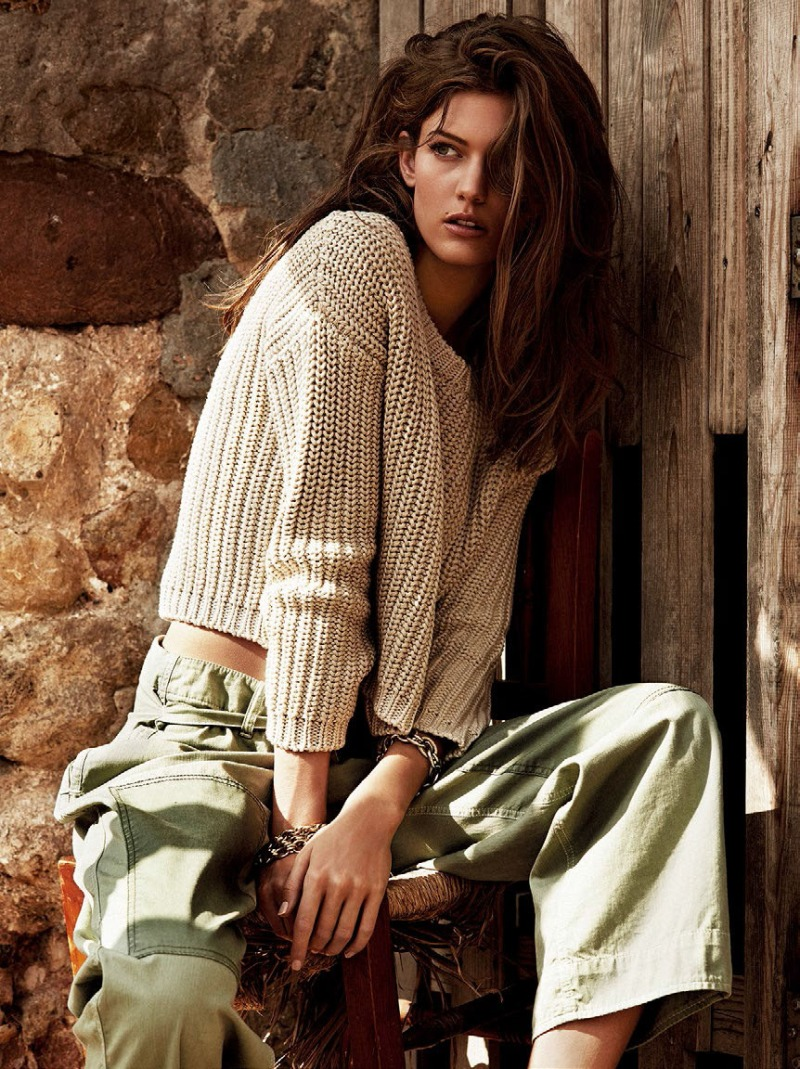 Kendra Spears for Vogue Spain February 2014
