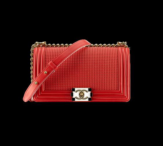 Embossed Lambskin Boy Chanel Flap Bag - $4,300.00