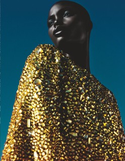 Jeneil Williams by Txema Yeste for Numero February 2014