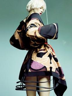Kasia Struss for Vogue Korea February 2014