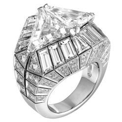 Cartier - Platinum and diamond ring