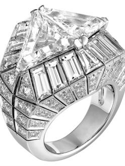 Cartier - Platinum and diamond ring